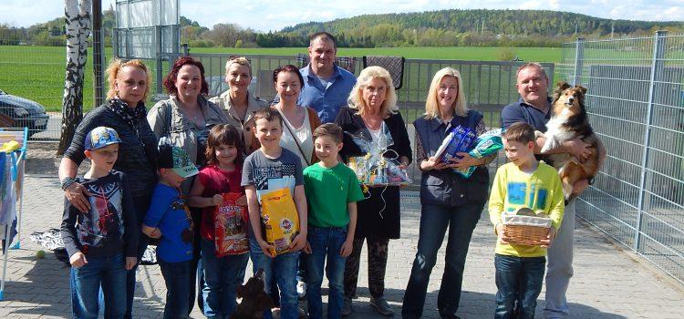 Spendenübergabe Kommunionkinder Stulln